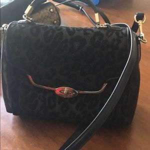 Coach leopard purse